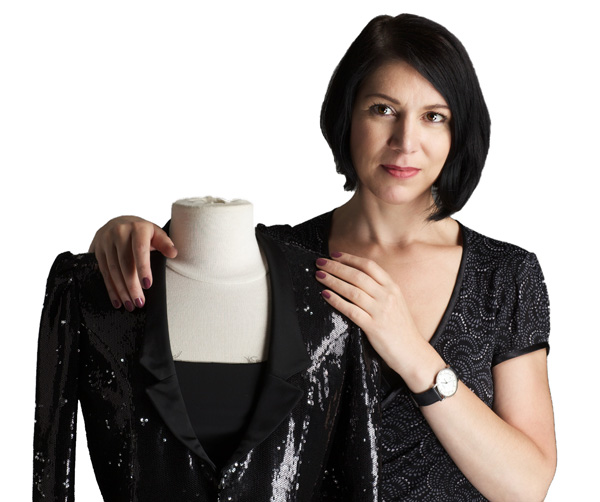 Schneidermeisterin Mandy Härtel - Inhaberin von tangoklyder.de